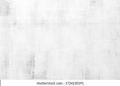 OLD NEWSPAPER BACKGROUND, BLACK AND WHITE GRUNGE PAPER TEXTURE, TEXTURED PATTERN, BLANK COVER DESIGN WITH TEXT FRAGMENTS