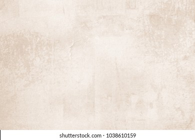 OLD NEWSPAPER BACKGROUND, BLANK GRUNGE PAPER TEXTURE