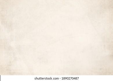 OLD NEWSPAPER BACKGROUND, OLD BLANK GRUNGE PAPER TEXTURE, LIGHT BEIGE TEXTURED PATTERN, WALLPAPER DESIGN - Shutterstock ID 1890270487