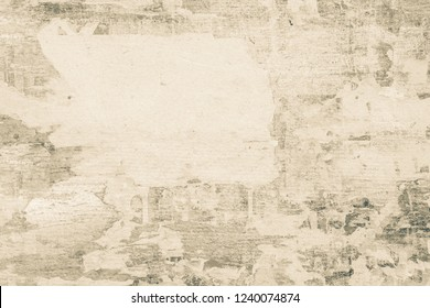 OLD  NEWSPAPER BACKGROUND, BLANK SCRATCHED PAPER TEXTURE