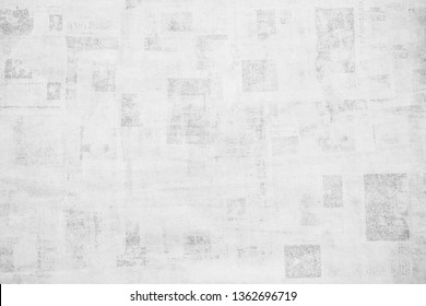 OLD NEWSPAPER BACKGROUND, GRUNGE PAPER TEXTURE, TEXTURED PATTERN