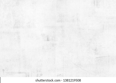 OLD NEWSPAPER BACKGROUND, GRUNGE PAPER TEXTURE, WHITE WALL PAPER DESIGN, SPACE FOR TEXT
