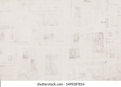 OLD NEWSPAPER BACKGROUND, GRUNGE PAPER TEXTURE, TEXTURED PATTERN, WALLPAPER DESIGN