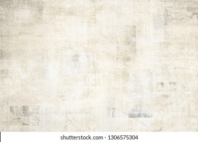 OLD NEWSPAPER BACKGROUND, GRUNGE AND ROUGH PAPER TEXTURE