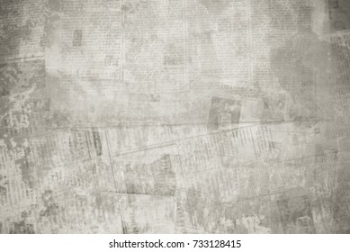 OLD NEWSPAPER BACKGROUND, GRUNGE TEXTURE