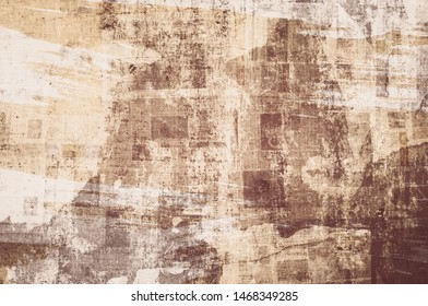 OLD NEWSPAPER BACKGROUND, SCRATCHED PAPER TEXTURE, TEXTURED PATTERN