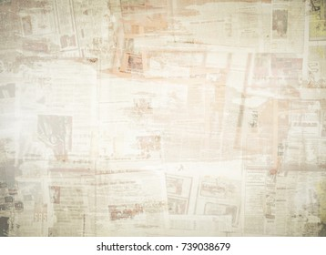 OLD NEWSPAPER BACKGROUND, SCRATCHED PAPER TEXTURE