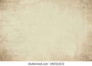 OLD NEWSPAPER BACKGROUND, VINTAGE GRUNGE TEXTURE, BLANK SCRATCHED RETRO WALLPAPER DESIGN, CREASED TEMPLATE