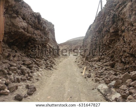 old niter factory chile stock photo edit now 631647827 shutterstock