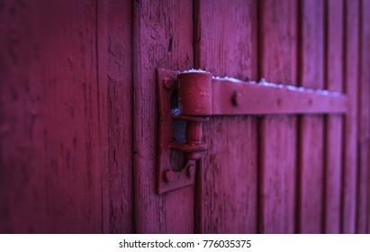 an old Norwegian door