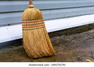 Straw Broom Images, Stock Photos & Vectors | Shutterstock