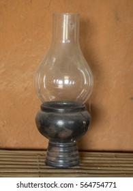 old oil lamp closeup