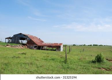 Old Oklahoma Barn