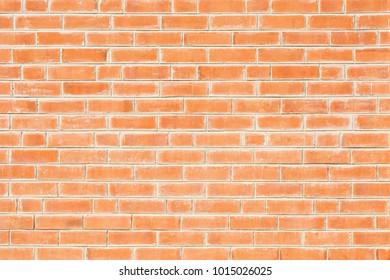 old orange brick wall - background