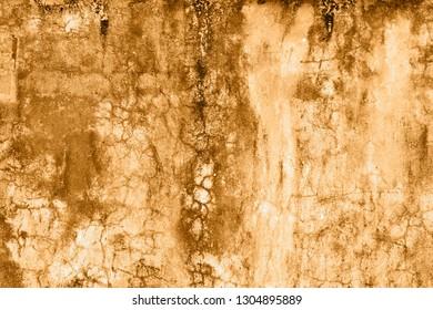 Old orange wall background