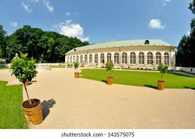 Old Orangery - Royal Baths Park in Warsaw