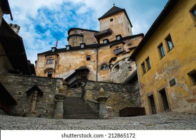 Old Orava castle in Slovakia