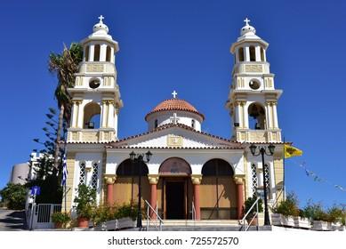 Old orthodox church on Crete in Chania, Greece