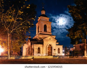 Old orthodox church in Poltava city, Ukraine
