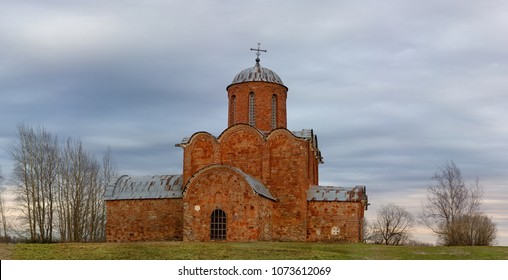 Old Orthodox Church of the Savior on Kovalev on the outskirts of Novgorod the Great
