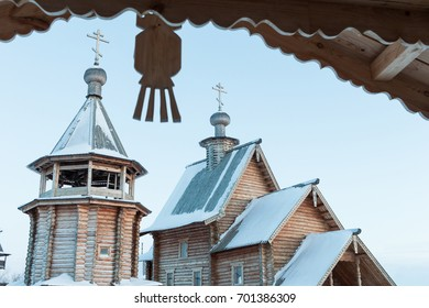 Old orthodox church in Siberia