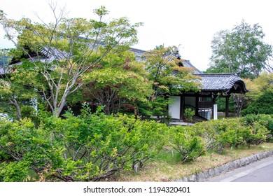 "It is ""old Otaru City Auditorium"" of historical building in Hokkaido Otaru city of Japan."