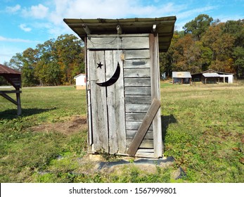 Old Outhouse in Rural South