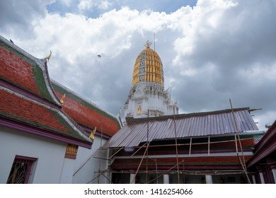 Old Pagoda in Phitsanulok Province of Thailand