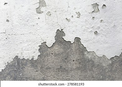 Old paint cracked wall