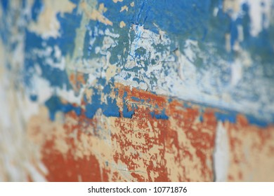 Old Paint on a boat