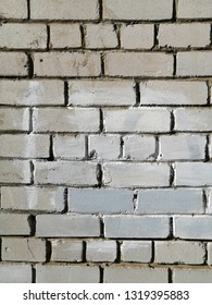 Old painted brick wall. Texture. Abstract background.