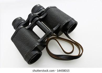 old pair of binoculars