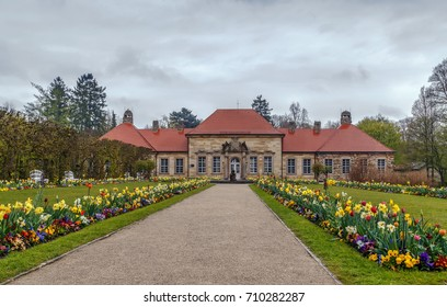 Old Palace in Hermitage garden, Bayreuth, Germany