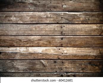 Old panel wood background Horizontal