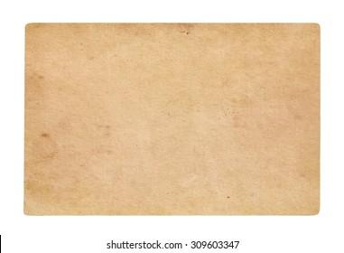 Old paper background. Brown vintage background