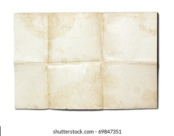 old paper background with colour pattern