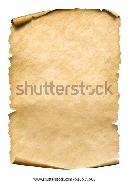 foto de manuscrito o pergamino de papel antiguo : Foto de stock (editar ...