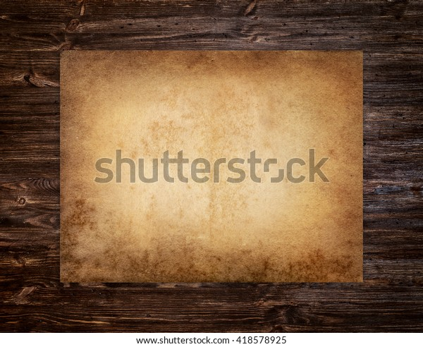 foto de Papel antiguo sobre el fondo de : Foto de stock (editar ahora ...