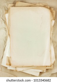 Old paper sheets