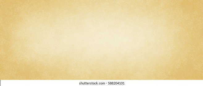 old paper in soft gold or light yellow brown background colors with faint vintage distressed texture in a plain parchment material design