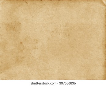 Old paper texture. Brown background. Craft paper.