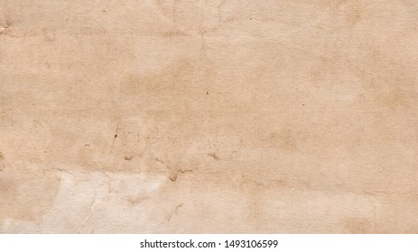 Old Paper texture. Vintage paper background or texture. Brown paper texture. Stained paper