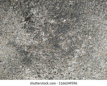 The Old Pebble Floor. Abstract background of Black, White and Yellow color.