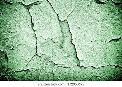 Old peeling paint industrial factory wall texture
