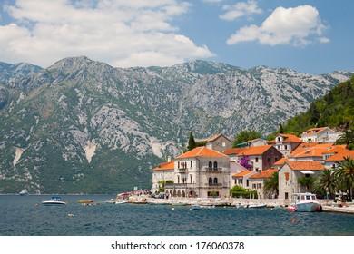 Old Perast town, Bay of Kotor, Montenegro