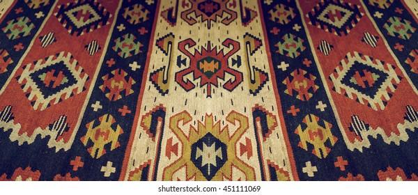 old Persian carpet