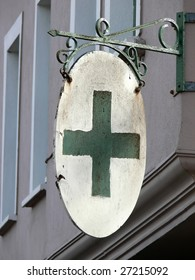 Old Pharmacy Sign