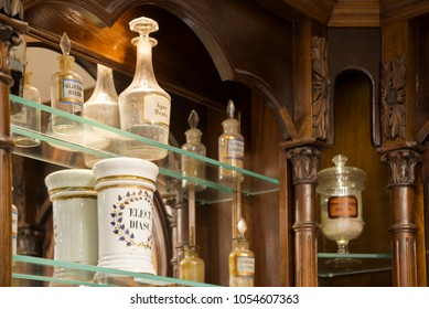 Old pharmacy vintage decoration