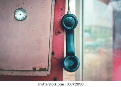 Old Pay Phone Images, Stock Photos & Vectors   Shutterstock