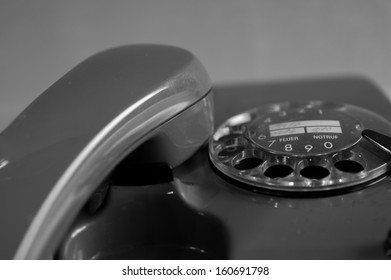 Old phone close up